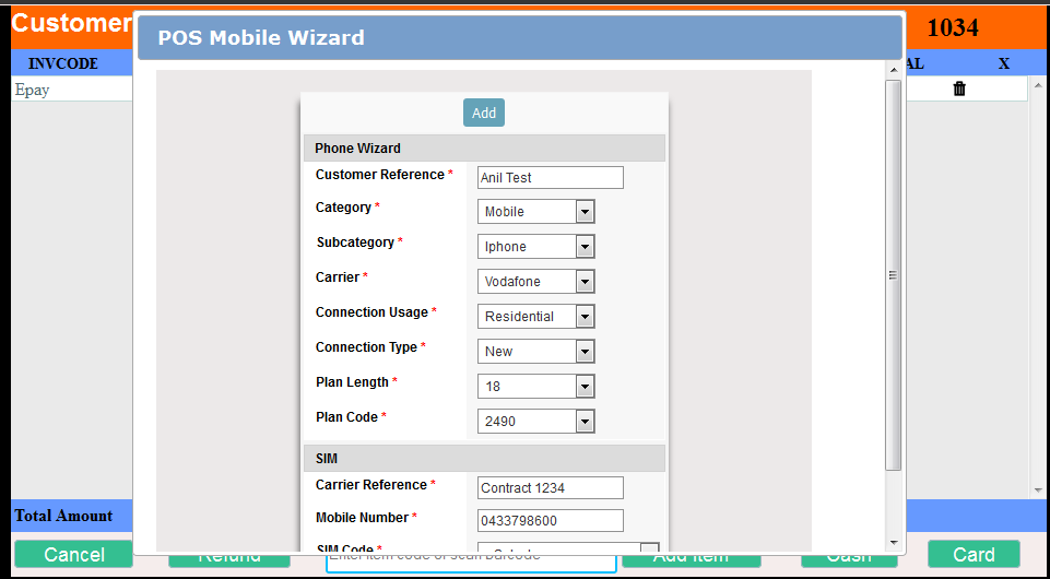 mobile wizard